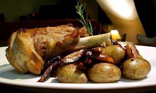 Roasted Lamb Shanks recipe — easy roasted lamb shank