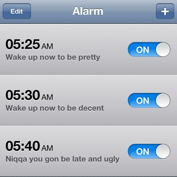hahaha true story.: Alarm Clock, My Life, Wake Up, To Work, Life Hahahaha, So Funny, Totally Me, True Stories, Haha So True