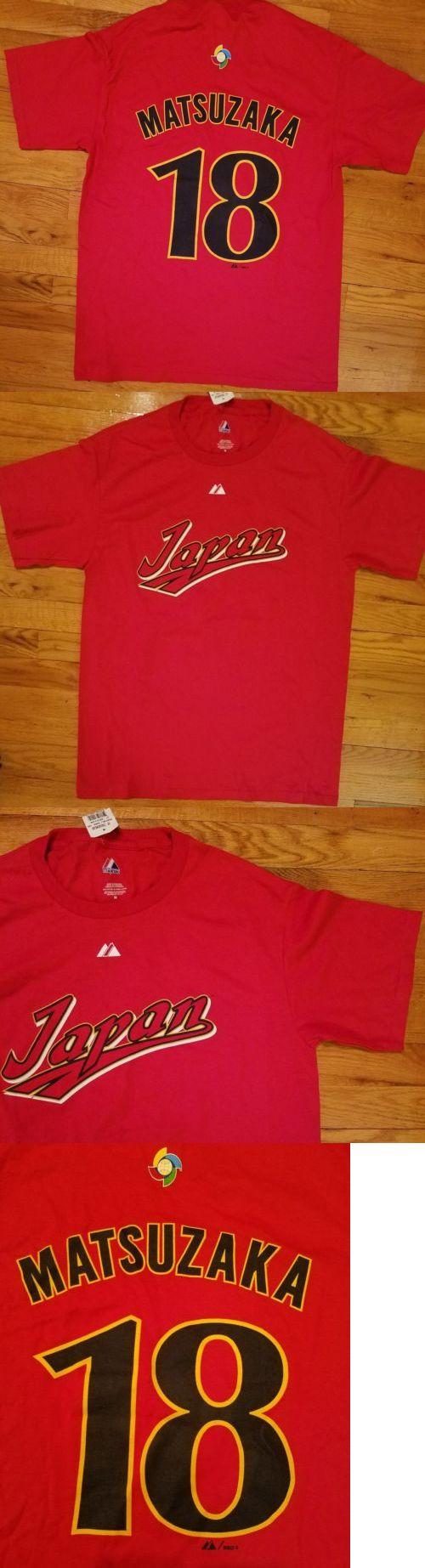 Baseball-Other 204: *Wow* Majestic 2009 World Baseball Classic Matsuzaka Japan Shirt Mens Champions -> BUY IT NOW ONLY: $31.5 on eBay!