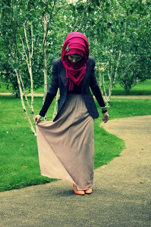 Hijab Outfits Tumblr | Source: nabiilabee , via k7letal3ain )