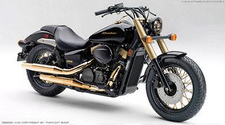 Honda Shadow Phantom in gold version | by Thuyen_Nguyen