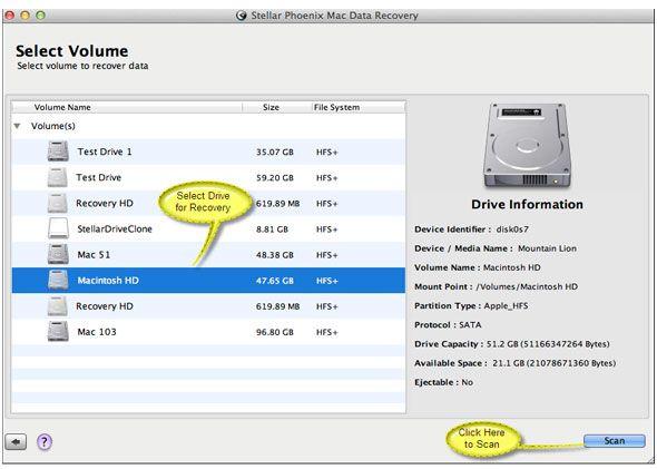 Resolve Mac Internal File System Error