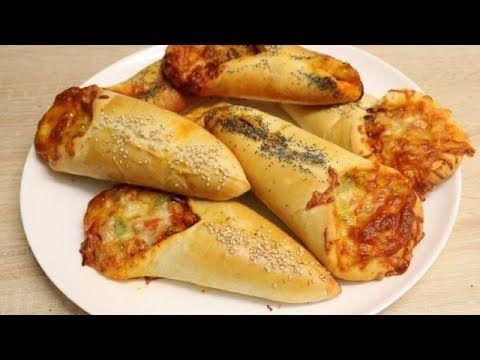 (42) PIZZA BABOUCHE AU POULET FACILE CUISINERAPIDE) - YouTube