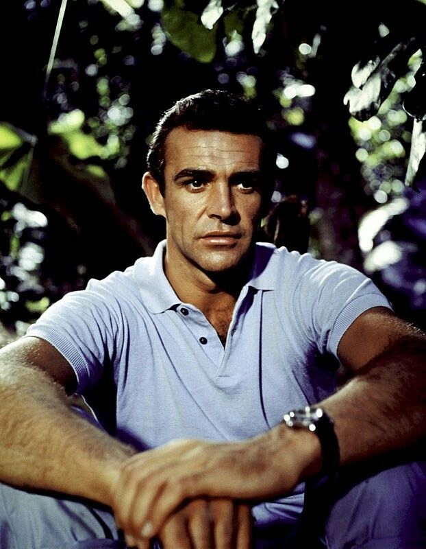 #Sean Connery as James Bond - Dr No 1962
