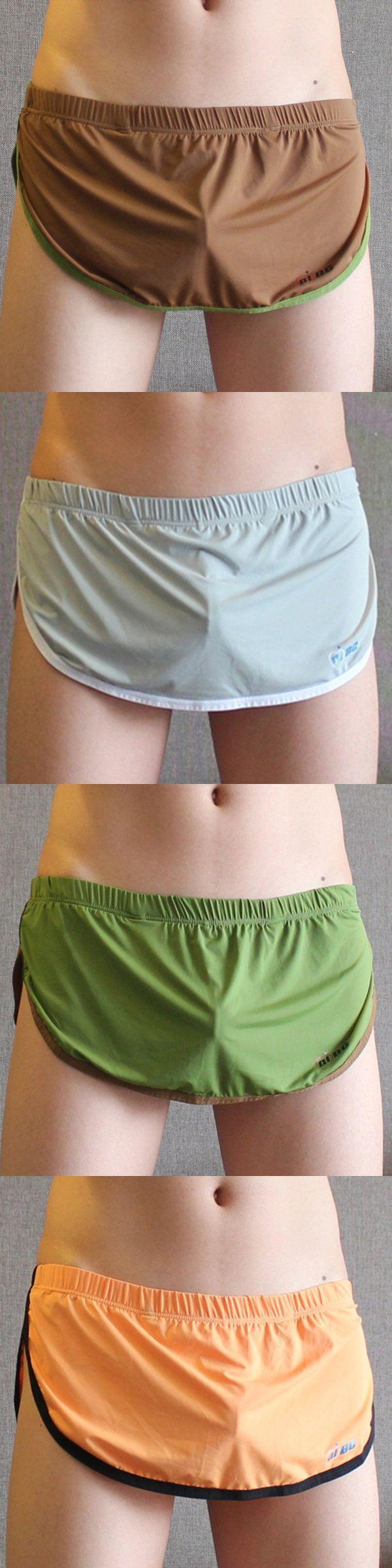 Home Sexy Thongs Sleepwear Breathable Seamless Underwear for Men