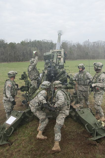 Suppression Fire by The U.S. Army, via Flickr