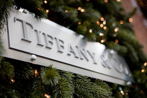 Tiffany & Co. in NYC at Christmastime