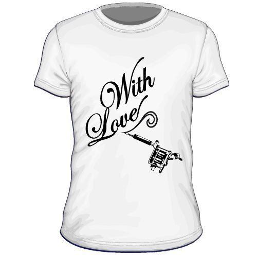Maglietta personalizzata With love ink