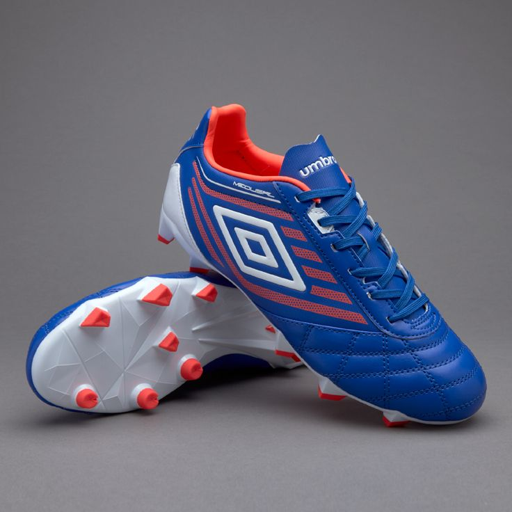 Umbro Medusae Club HG - Dazzing Blue/White/Fiery Coral