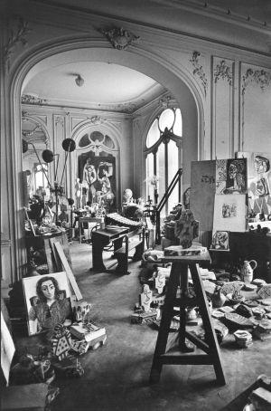 Villa la Californie. Una construcción de Belle Époque. Residencia de Picasso desde el 1955 hasta el 1961.