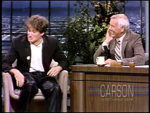 10 of Robin Williams' Funniest Moments from Johnny Carson to his USO Tour - via Time Magazine, 08.12.2014