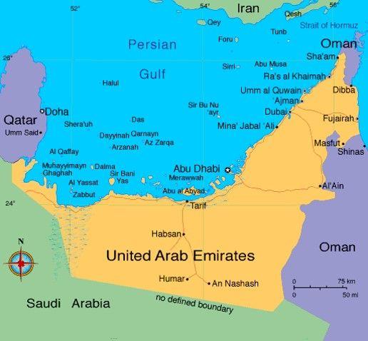 Donde Está Abu Dhabi Donde Está Abu Dhabi Emiratos árabes Unidos Geografía Mundial