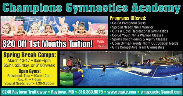 Champions Gymnastics Academy
