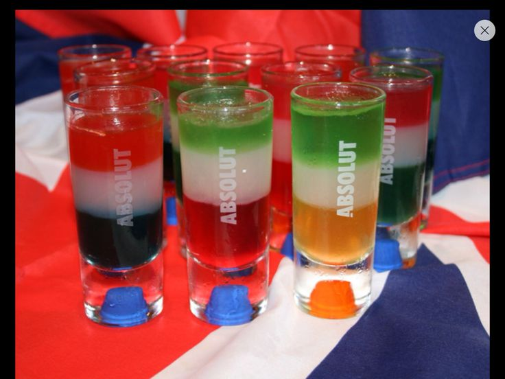Euro shots vodka jelly
