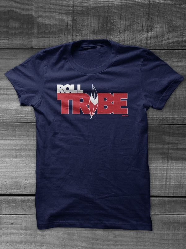 Roll tribe from team cle products for T shirt printing lakewood ohio