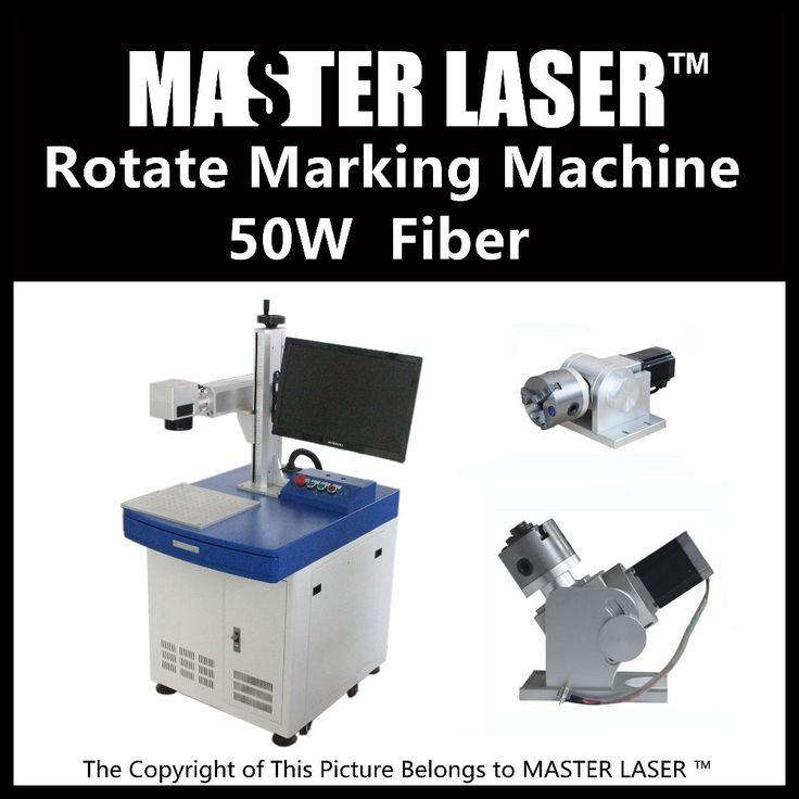 Lower Price 50W Fiber Portable  220V Input Raycus Laser with DELL DESKTOP Computer bracelet engraving machine