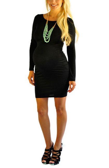 Maternity Dresses-Little Black Dress