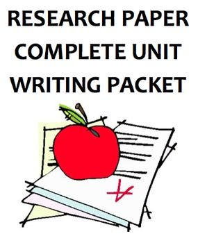 Research Paper  Complete Unit  Any Topic  Research papers made easy  This complete unit has everything you need to teach writing a research paper from start to finish FOR ANY TOPIC  This packet has successfully guided hundreds of my students through their research papers in English and Social Studies  This packet contains 40 pages of instructions  exemplars  graphic organizers and drafting templates for every step of research and expository writing  researchwritingunit