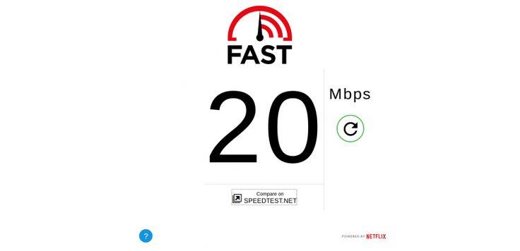 Netflix cria seu próprio site medidor de velocidade de internet onde você pode aferir com mais segurança como está o desempenho do seu plano.