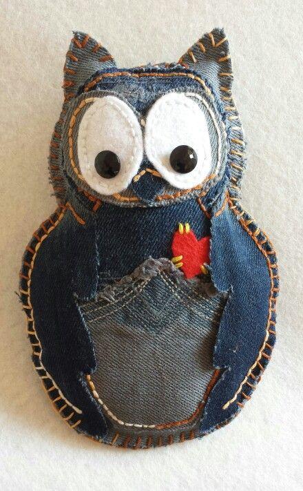Denim Owl...