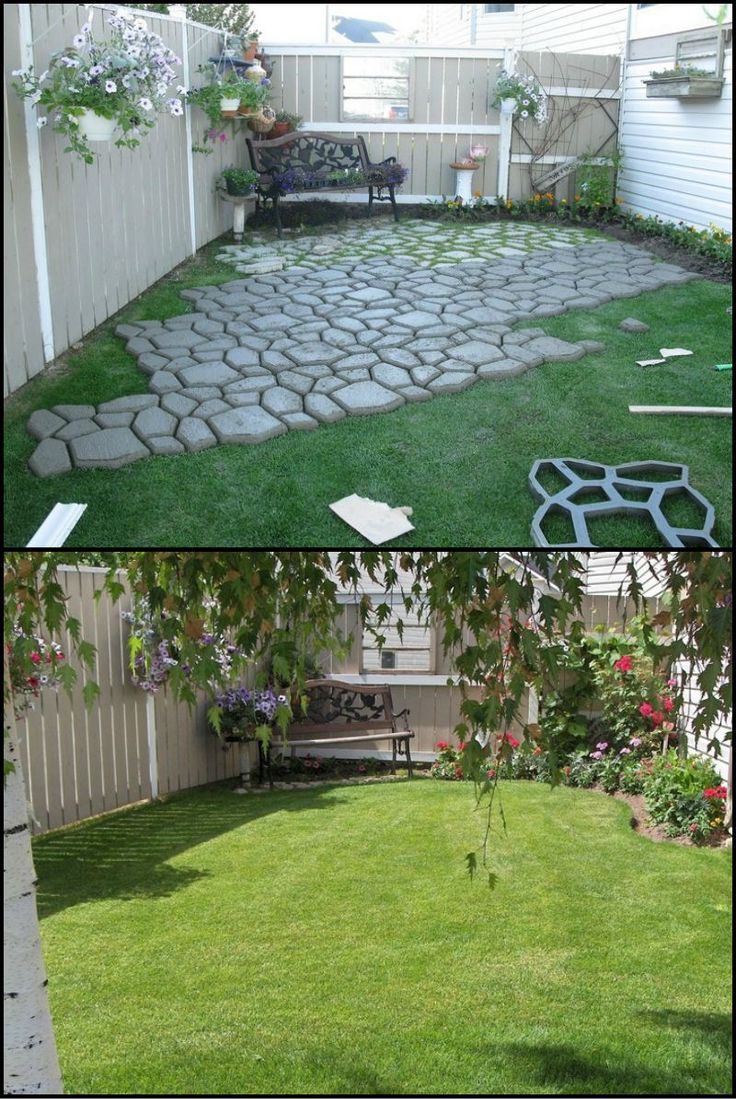 Backyard Garden Design Ideas: Best 25+ Paved Patio Ideas On Pinterest