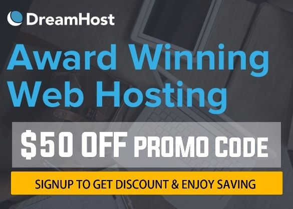DreamHost Review Hosting Uptime & Special Discounts - DreamHost Promo Code that will provide you to save $50 Off + Unlimited Hosting Plan + Free Domain Name for your website. DreamHost web hosting is perfect for WordPress, bloggers, website designers, E-commerce and small businesses and more; so get the DreamHost online discounts and enjoy the savings.