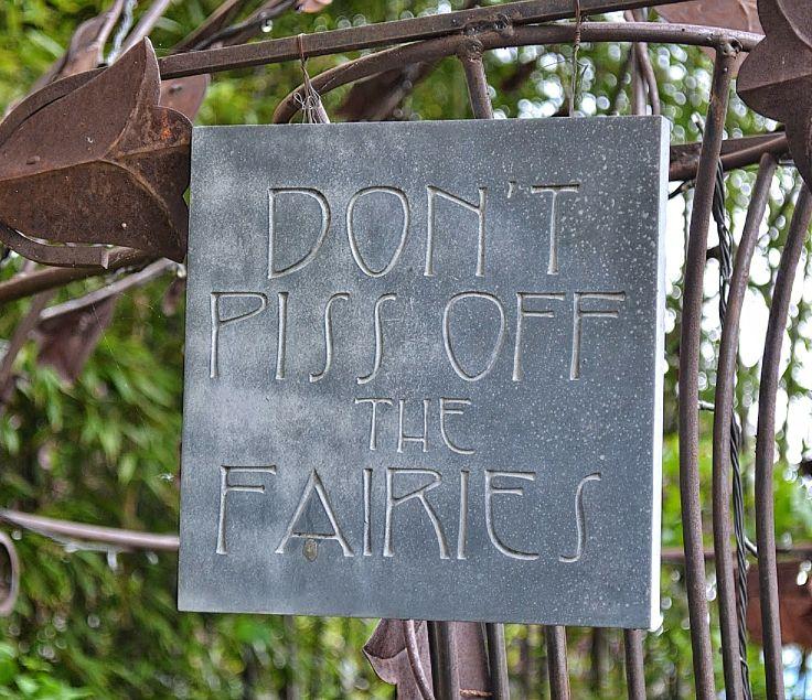 In the garden of Rebecca and Laird Harris Brenneman | photo copyright Peter Herpst | Outlaw Gardener
