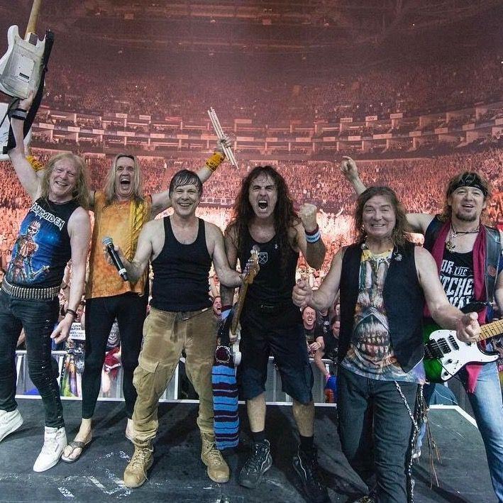 Iron Maiden..........