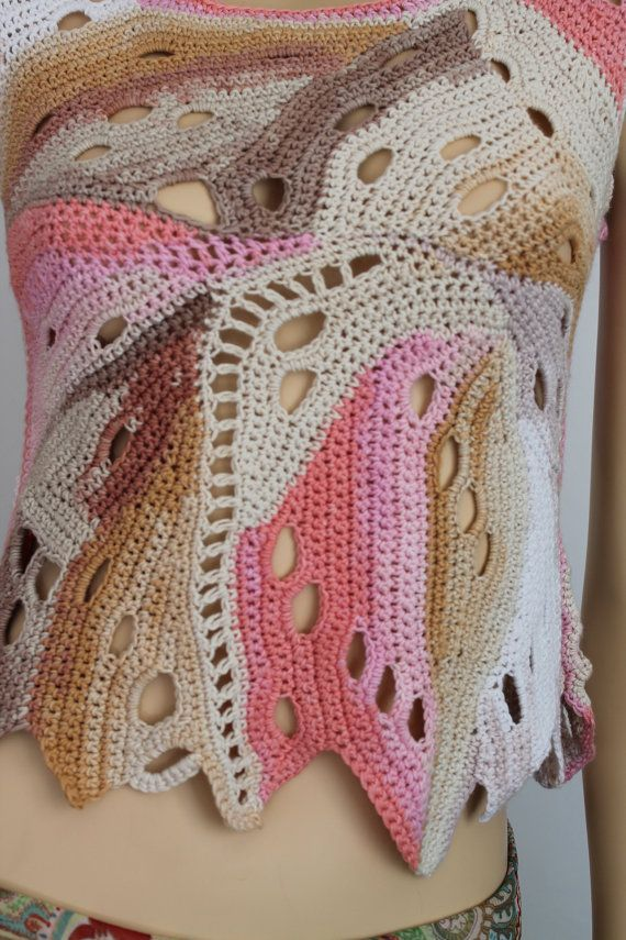 Ready to ship Boho Chic Hippie Cotton Freeform by levintovich