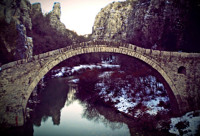 Kokkorou bridge   Central Zagori, prefecture of Ioannina - Greece