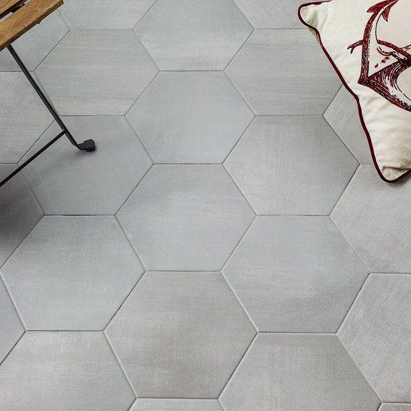 Langston Hexagon 10 X 11 Wall Floor Tile Flooring Tile Floor Shower Tile