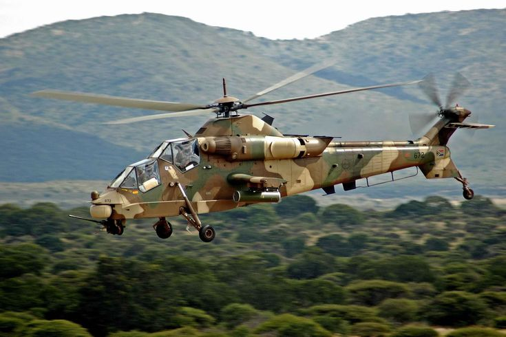 South African1999 Denel AH-2 Rooivalk