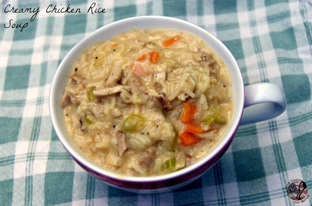 creamy chicken and rice soup | Soups | Pinterest | Rice Soup, Creamy ...