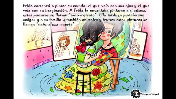 Frida's World Storybook Bilingual App