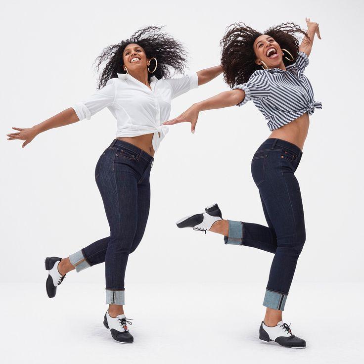 ロサンジェルス出身の姉妹タップダンサーデュオ、クロエとマウダ。アメリカの人気ダンスオーディション番組シーズン11のチャンピオン。#MeetMeInTheGap