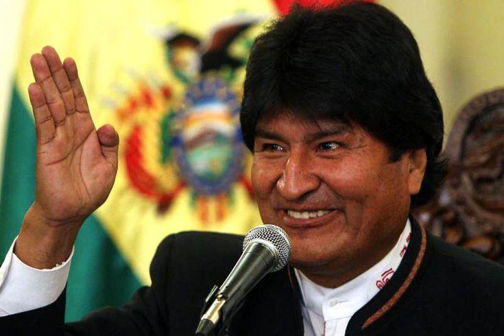 """¡PASÓ EL SUSTO! Evo Morales confirmó que """"no es maligno"""" el nódulo descubierto en su garganta - http://wp.me/p7GFvM-DmK"""