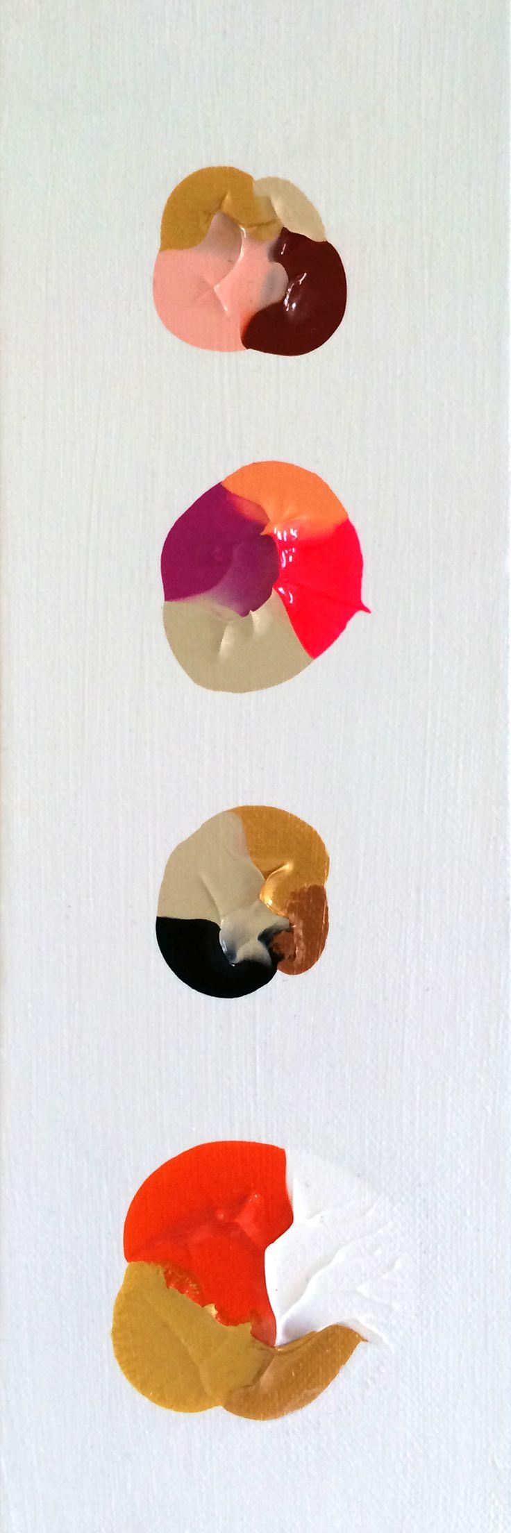 Color Quads | Logan Ledford Art - Dos personas besándose, ???, una persona hecha un bollo, un león =D