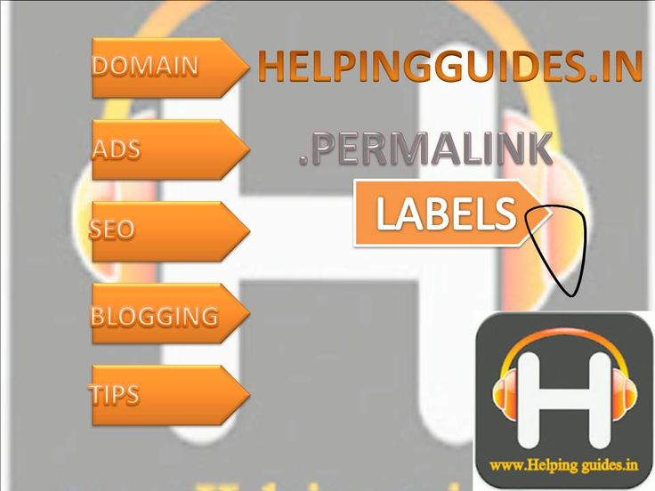 LABELS AND PERMALINKS