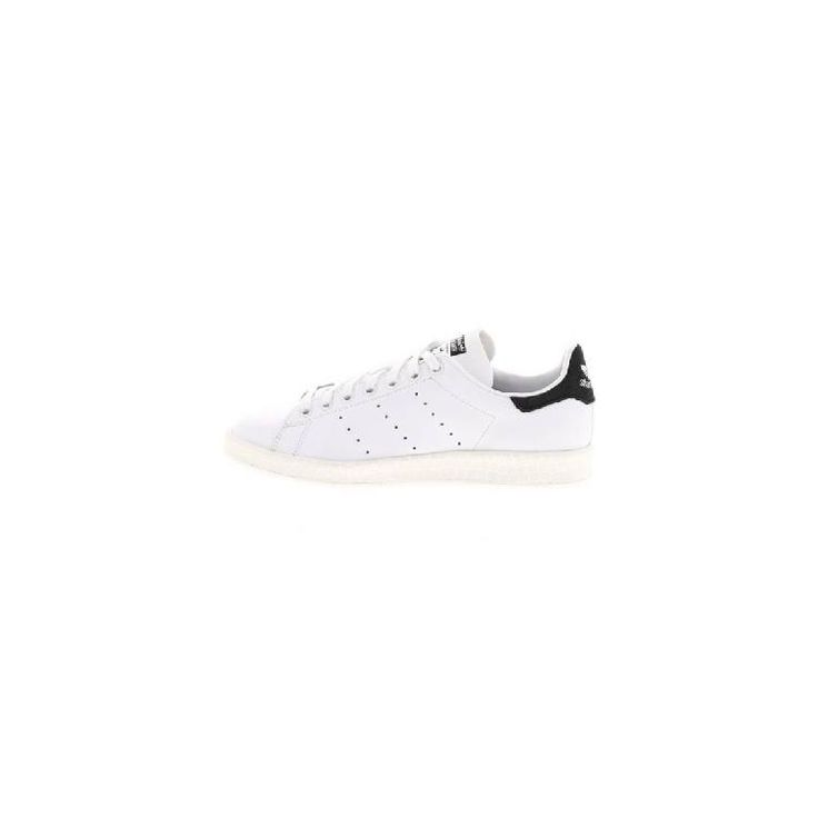 STAN SMITH LUXE - Sneaker low - white/core black by adidas Originals