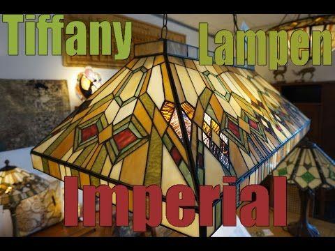5287 Hanglamp Tiffany B92cm Biljart model Imperial   Super Grote Hanglampen   Haddon Hall Tiffany