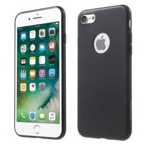 Carcasa iPhone 7, Neagra, Silicon, Slim, Slim