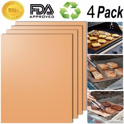 Smaid Gold Grill Mat, Set of 4