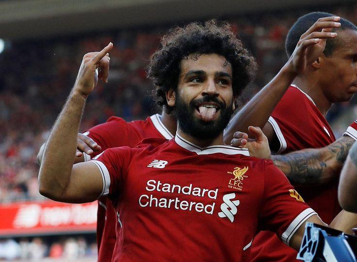 @officiallfc Mohamed Salah #PL #PremierLeague #LIVARS #LiverpoolArsenal #LFC #Liverpool #LiverpoolFC #Mane #Salah #Firmino #Sturridge #Reds #9ine