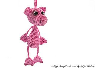 Piglet Amigurumi Free Pattern : 94 best crochet keychain~ free patterns images on pinterest