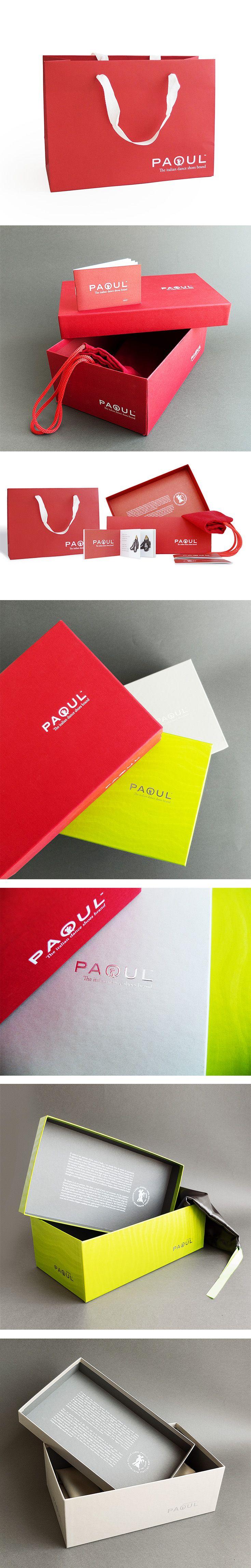 Packaging per Paoul, un progetto #effADV - Paoul packaging, effADV project - #packaging #shopper #shoebox #shoes #box