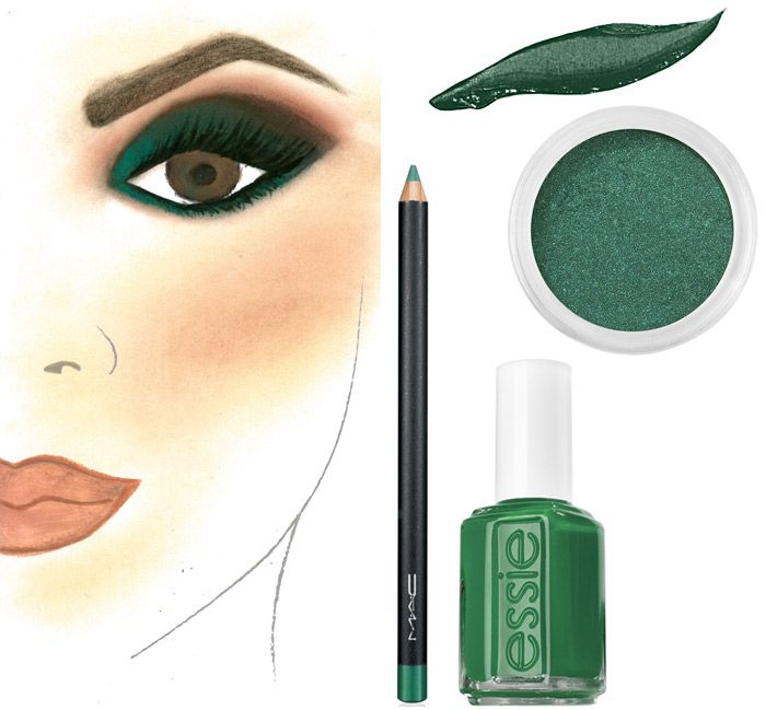 Get the look: #Emerald 2013 #coloroftheyear #Nordstrom #Beauty