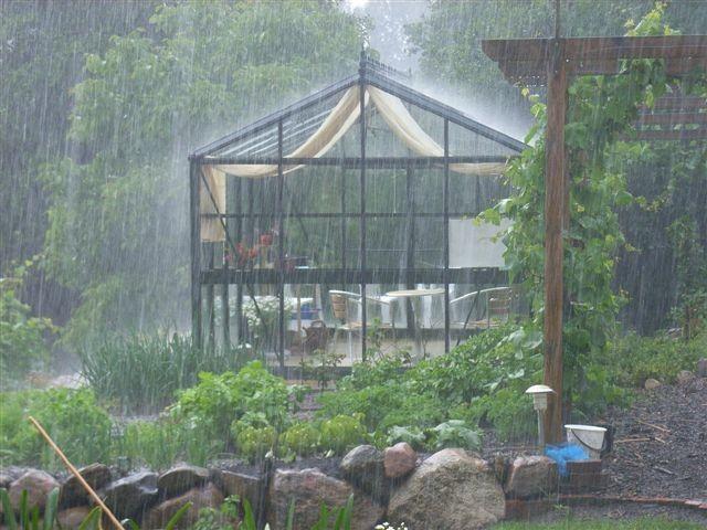 """10 Synes godt om, 1 kommentarer – Pavillon Danmark A/S (@pavillon_danmark) på Instagram: """"#pavillondanmark #regnbyge #orangeri #drivhus #sommer #udeliv #haveliv  Blæs på blæsevejr og ha'…"""""""