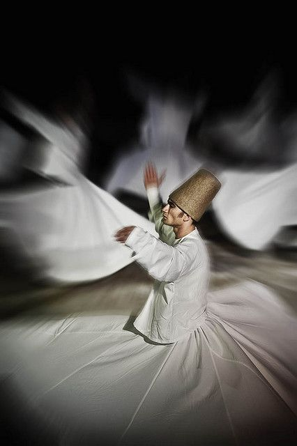 "Whirling whirling.. always whirling.  Not ""hooping,"" at all.  And at the same time, there is overlap between the trance state of the dervishes and the flow state you can find in hooping."