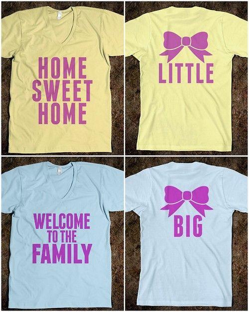 Cute big sis/ little sis t-shirts
