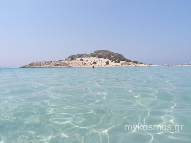Elafonisos beach, Peloponisos, Greece